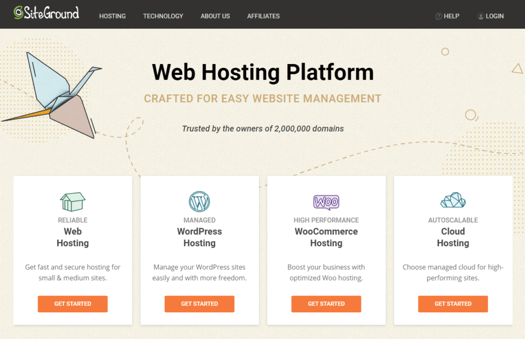 Siteground Best Web Hosting Service