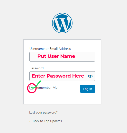 How to find WordPress login URl