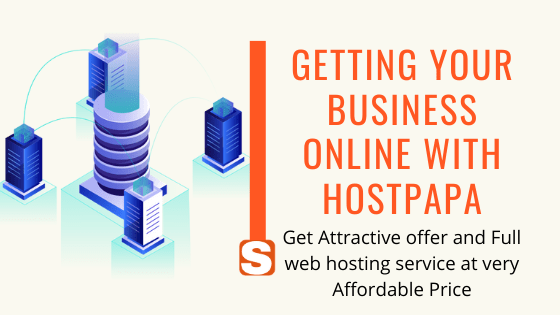 Hostpapa web hosting services full solutions