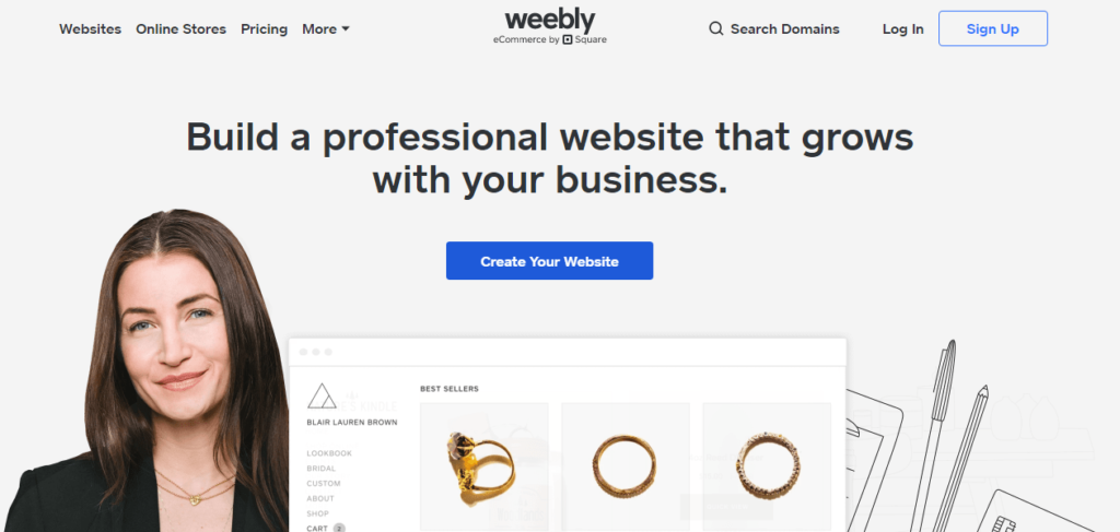 Another Best Free Blogging Platform Weebly