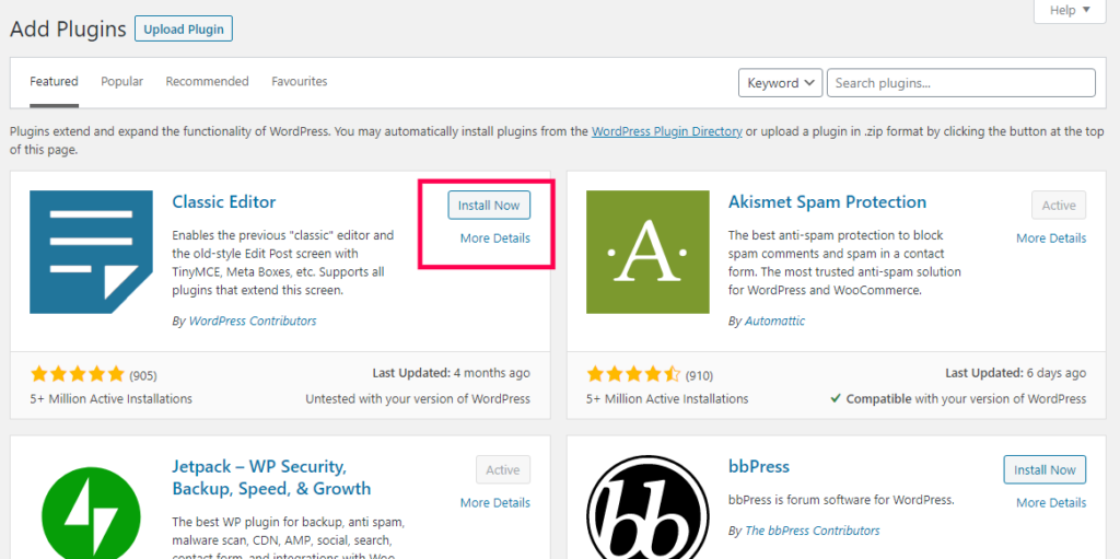 How To Install A WordPress Plugins