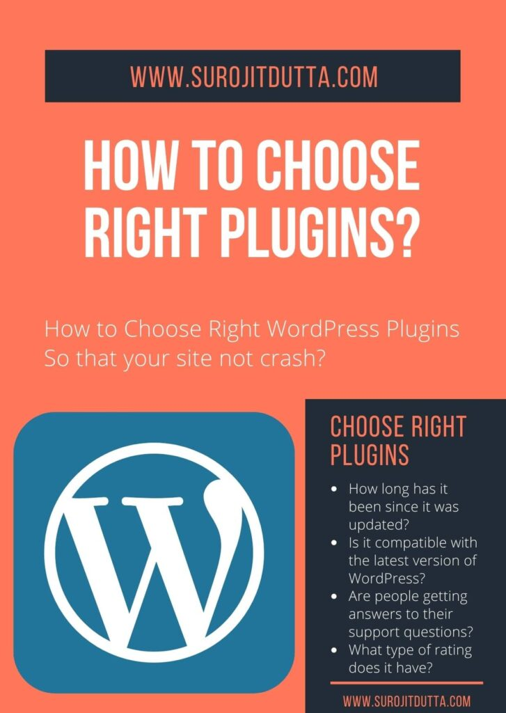 How To Choose Right WordPress Plugins For Your Site?