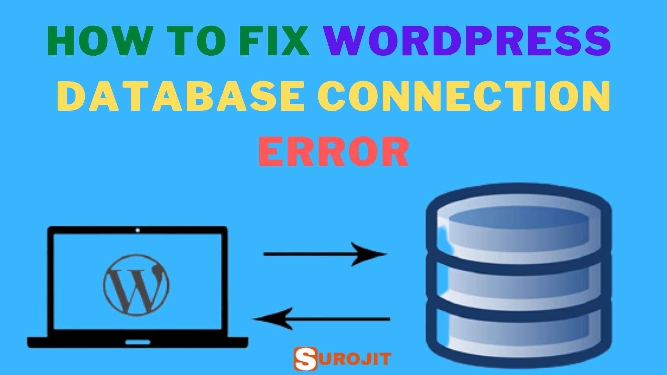 6 Ways To Fix Error Establishing A Database Connection