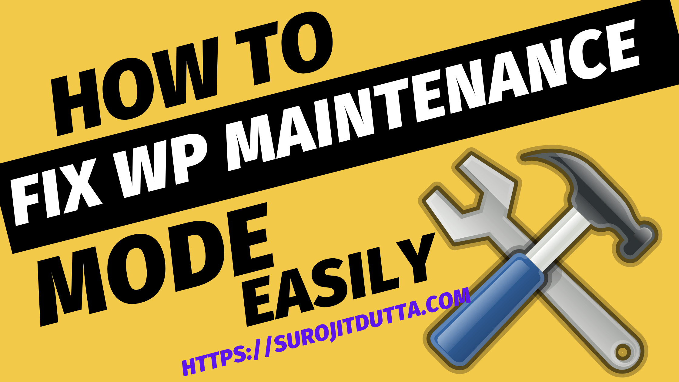 How To Fix 'Briefly Unavailable For Scheduled Maintenance. Check Back In A Minute'