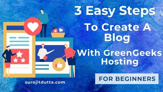 How To Create A Blog With Greengeeks Web Hosting