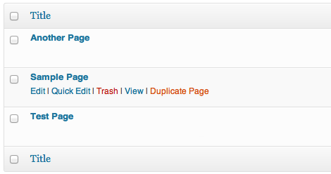 How To Create WordPress Duplicate page and Post